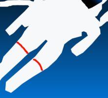 Free Floating Astronaut Sticker