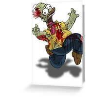 Zombie Homer (The Simpsons) Greeting Card