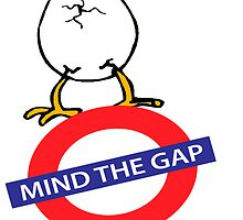 Happy Easter Mind the gap by AleCampa