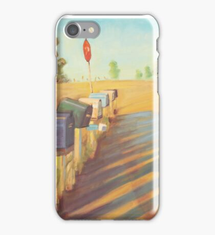 Mail Boxes iPhone Case/Skin