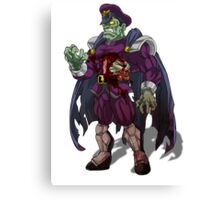 Zombie M Bison (Street Fighter) Canvas Print
