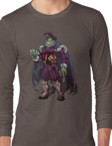 Zombie M Bison (Street Fighter) Long Sleeve T-Shirt
