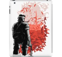 Big Boss Red  iPad Case/Skin