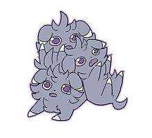 Pile of Espurr by Serket