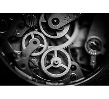 The inner workings Photographic Print