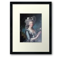 Marie Antoinette, Queen of France Framed Print