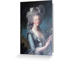 Marie Antoinette, Queen of France Greeting Card