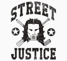 Street Justice Casey Jones (Black Print) by printproxy
