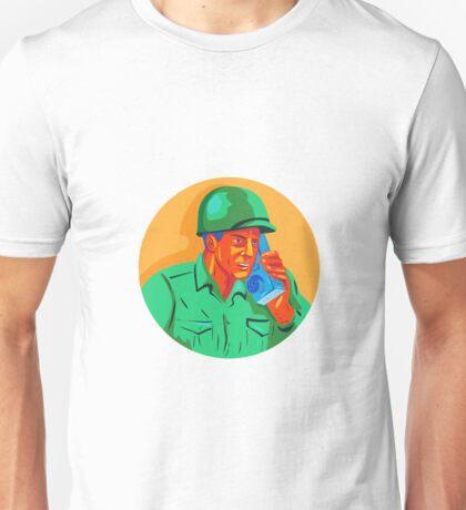 World War Two Soldier American Talk Radio WPA Unisex T-Shirt