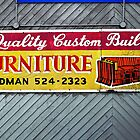 Furniture Store Sign © by Ethna Gillespie