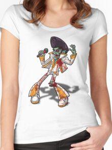 Zombie Elvis Women's Fitted Scoop T-Shirt