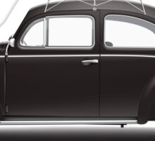 1953 Volkswagen Beetle Sedan - Black Sticker