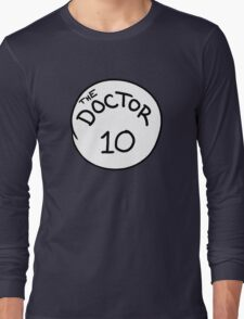 Doctor 10 Long Sleeve T-Shirt