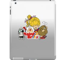 Rainbow Brite - Group Logo #2 - Color iPad Case/Skin