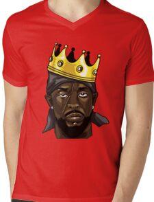 King Omar Mens V-Neck T-Shirt