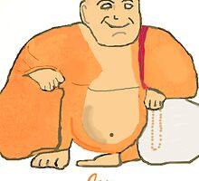 Buddha Joy by Timothyoleary