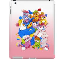 Popples - Group - Color iPad Case/Skin