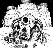 The Ruins of Space by Steve Zieser