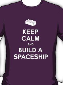 Keep Calm and Build a Spaceship T-Shirt