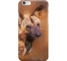 Wild Dog! iPhone Case/Skin