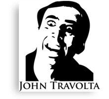 John Travolta Canvas Print