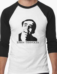 John Travolta Men's Baseball ¾ T-Shirt