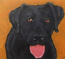 Black Lab by Carole Chapla