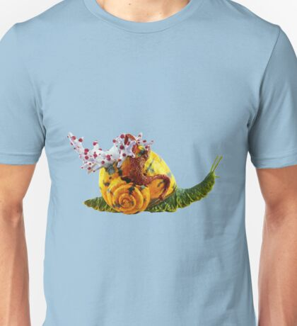 Moving Life Water Snail Unisex T-Shirt