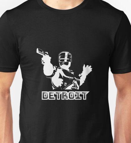 Robocop - Detroit (White) Unisex T-Shirt