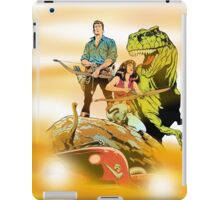 Cadillacs and Dinosaurs - Color iPad Case/Skin