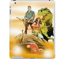 Cadillacs and Dinosaurs - Tablet & Phone Cases iPad Case/Skin