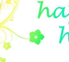 happy holi Sticker