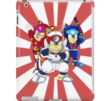 Samurai Pizza Cats - Group Color iPad Case/Skin