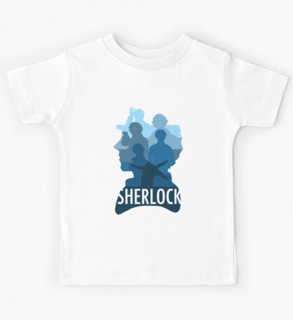 Sherlock ~  A Study to the Fall Kids Tee
