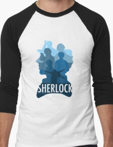 Sherlock ~  A Study to the Fall Men's Baseball ¾ T-Shirt