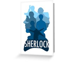 Sherlock ~  A Study to the Fall Greeting Card