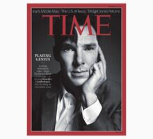 Benedict Cumberbatch on Time Magazine by LucyRicardo