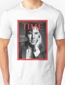 Benedict Cumberbatch on Time Magazine T-Shirt