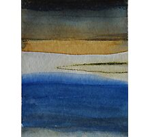The Bay Abstracted Photographic Print
