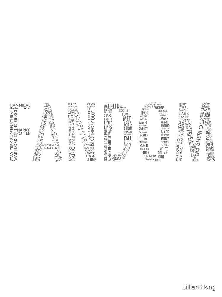 FANDOM (Sherlock, Doctor Who, Hannibal, Supernatural, ALL) by booklils
