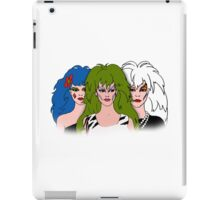 Jem and the Holograms - The Misfits - Group Color iPad Case/Skin