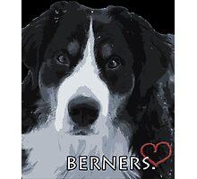 Berner love. Photographic Print