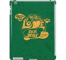 Make Love Not War iPad Case/Skin