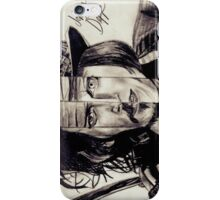 Four Faces of Johnny Depp iPhone Case/Skin