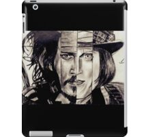 Four Faces of Johnny Depp iPad Case/Skin