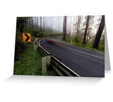 The Black Spur Greeting Card