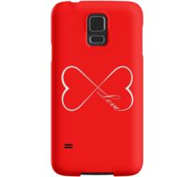 Infinite Love Samsung Galaxy Case/Skin
