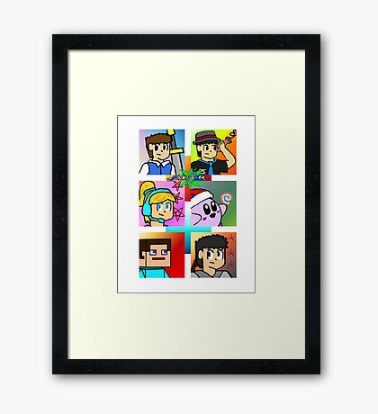 Project Art Zone Framed Print