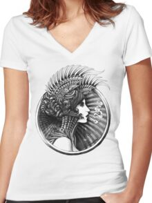 Valkyrie Women's Fitted V-Neck T-Shirt