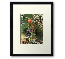©MS Lonely Flower IIA Framed Print
